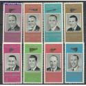 Ras Al Khaima 1966 Mi 48-55 Czyste **