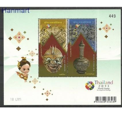 Znaczek Tajlandia 2013 Mi bl 302 Czyste **