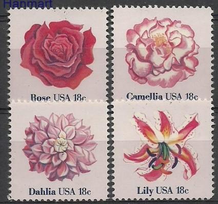 Znaczek USA 1981 Mi 1459-1462 Czyste **