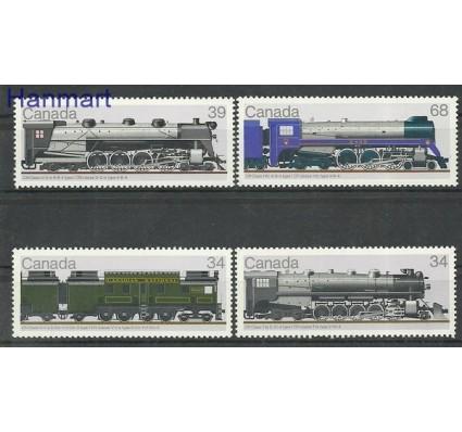 Znaczek Kanada 1986 Mi 1018-1021 Czyste **