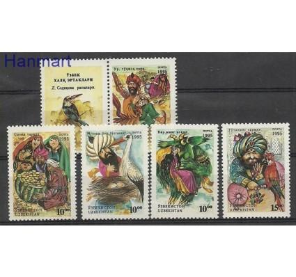Znaczek Uzbekistan 1995 Mi zf 65-69 Czyste **