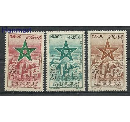 Znaczek Maroko 1957 Mi 423-425 Czyste **