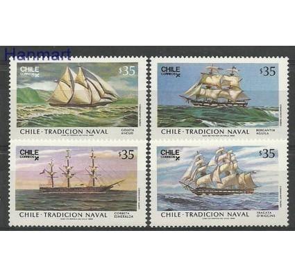 Znaczek Chile 1986 Mi 1133-1136 Czyste **
