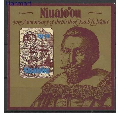 Znaczek Niuafo'ou 1985 Mi bl 2 Czyste **