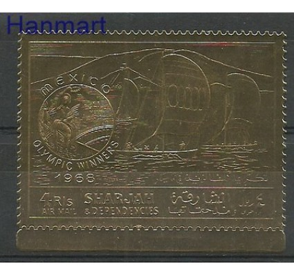 Znaczek Sharjah 1968 Mi 526 Czyste **