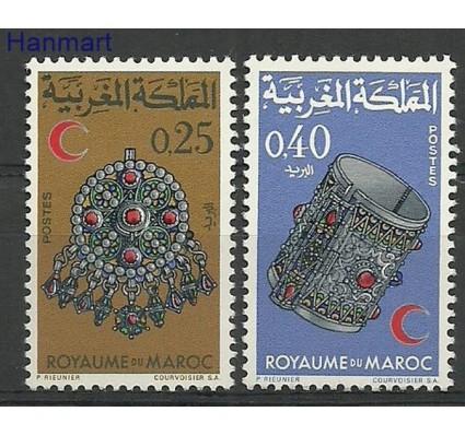 Znaczek Maroko 1968 Mi 620-621 Czyste **