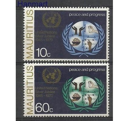 Znaczek Mauritius 1970 Mi 371-372 Czyste **