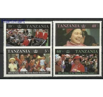 Znaczek Tanzania 1987 Mi 391-394 Czyste **