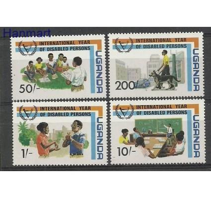 Znaczek Uganda 1981 Mi 315-318 Czyste **