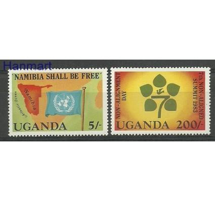 Znaczek Uganda 1983 Mi 359-360 Czyste **