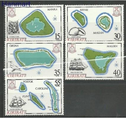 Znaczek Kiribati 1986 Mi 475-479 Czyste **