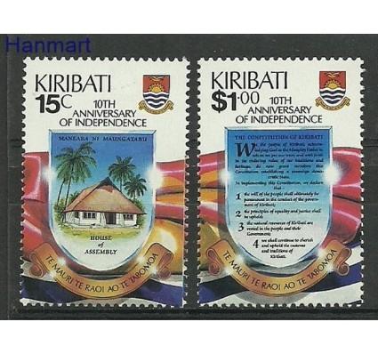 Znaczek Kiribati 1989 Mi 521-522 Czyste **