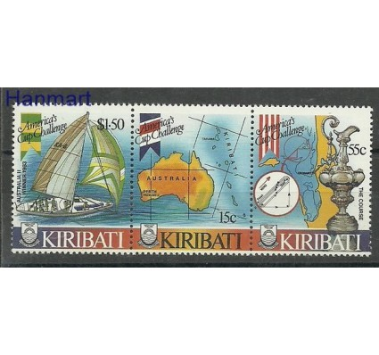 Znaczek Kiribati 1986 Mi 484-486 Czyste **