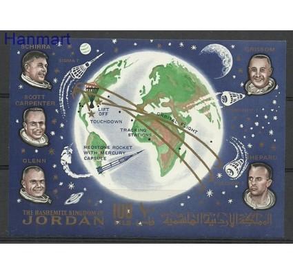 Znaczek Jordania 1964 Mi bl 9 Czyste **