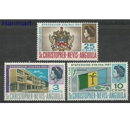 Znaczek St. Christopher Nevis Anguilla 1967 Mi 175-177 Czyste **