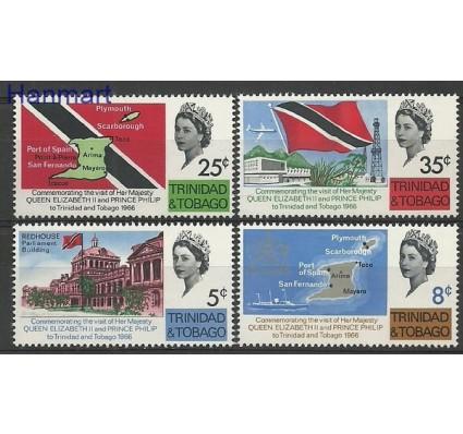 Znaczek Trynidad i Tobago 1966 Mi 202-205 Czyste **