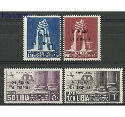 Libia Włoska 1937 Mi 85-88 Z podlepką *