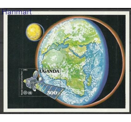 Znaczek Uganda 1983 Mi bl 43 Czyste **