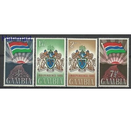 Znaczek Gambia 1965 Mi 201-204 Czyste **