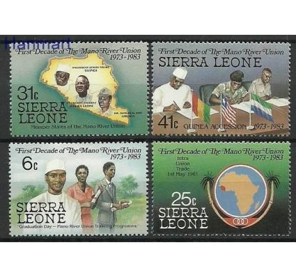 Znaczek Sierra Leone 1984 Mi 737-740 Czyste **
