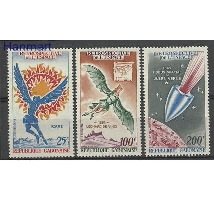 Znaczek Gabon 1970 Mi 363-365 Czyste **