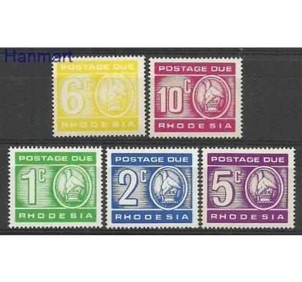 Znaczek Rodezja 1980 Mi 16-20 Czyste **