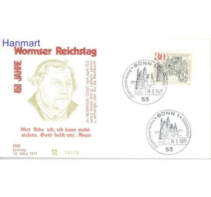 Znaczek Niemcy 1971 FDC