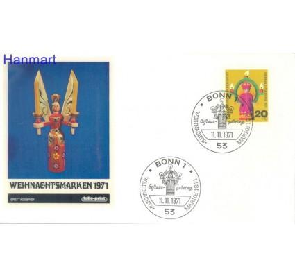 Znaczek Niemcy 1971 Mi 709 FDC