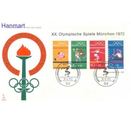 Znaczek Niemcy 1972 FDC