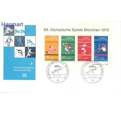 Niemcy 1972 FDC