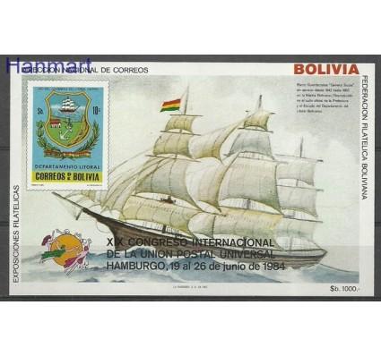 Znaczek Boliwia 1984 Mi bl 137 Czyste **