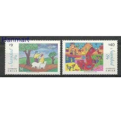Znaczek Chile 1984 Mi 1070-1071 Czyste **
