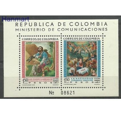 Kolumbia 1960 Mi bl 20 Czyste **