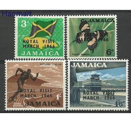 Znaczek Jamajka 1966 Mi 250-253 Czyste **