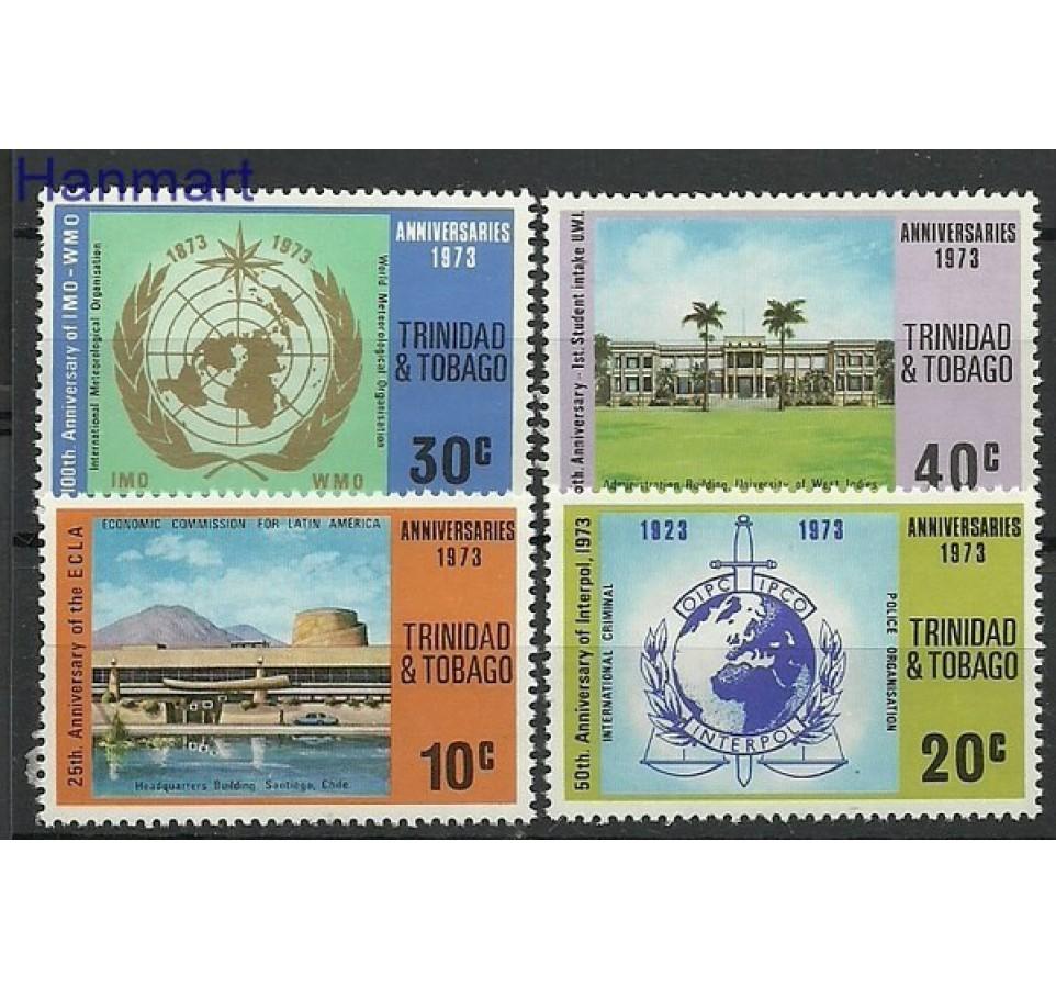 Trynidad i Tobago 1973 Mi 314-317 Czyste **