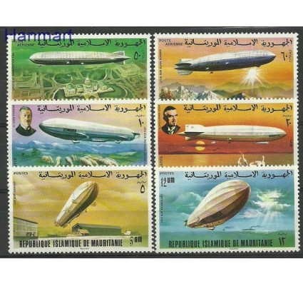 Znaczek Mauretania 1976 Mi 539-544 Czyste **