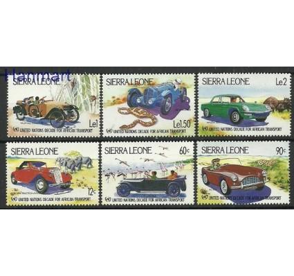 Znaczek Sierra Leone 1984 Mi 752-757 Czyste **
