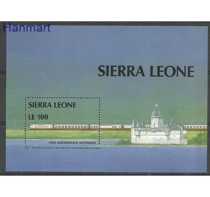 Znaczek Sierra Leone 1987 Mi bl 64 Czyste **
