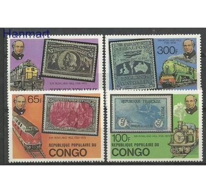 Znaczek Kongo 1979 Mi 680-683 Czyste **