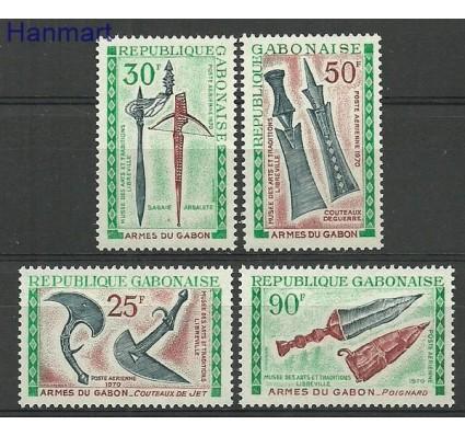 Znaczek Gabon 1970 Mi 367-370 Czyste **