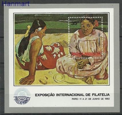 Znaczek Mozambik 1982 Mi bl 14 Czyste **