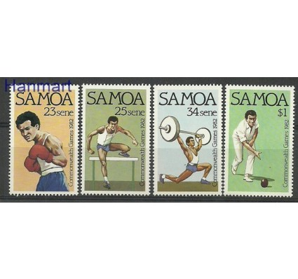 Znaczek Samoa 1982 Mi 486-489 Czyste **