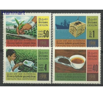 Znaczek Cejlon 1967 Mi 359-362 Czyste **