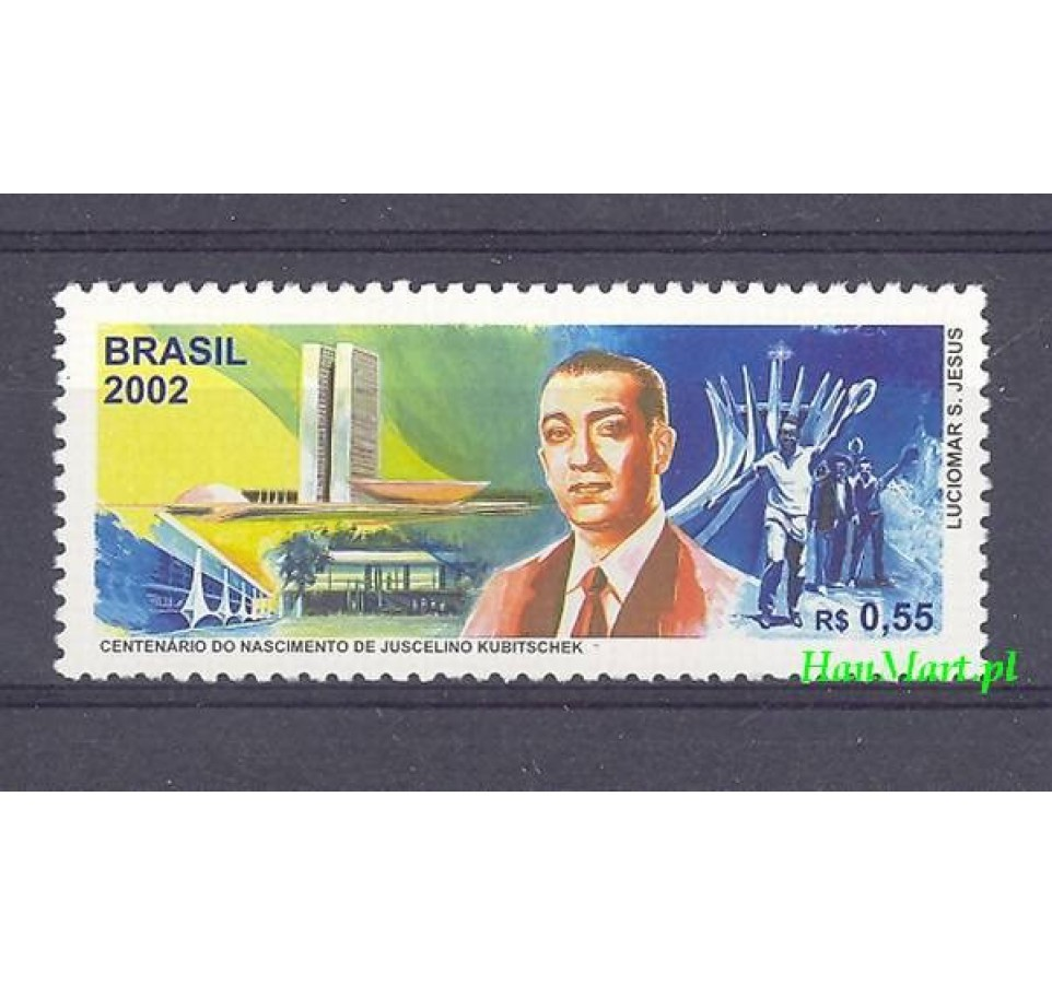 Brazylia 2002 Mi 3225 Czyste **