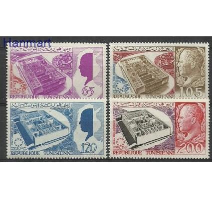 Znaczek Tunezja 1967 Mi 675-678 Czyste **
