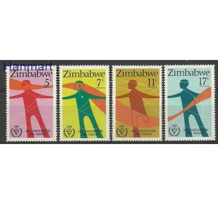 Znaczek Zimbabwe 1981 Mi 251-254 Czyste **
