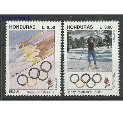 Znaczek Honduras 1992 Mi 1134-1135 Czyste **