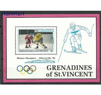 Znaczek Grenadines of St Vincent 1992 Mi bl 108 Czyste **