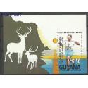 Gujana 1991 Mi bl 124 Czyste **
