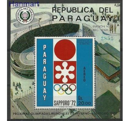 Znaczek Paragwaj 1970 Mi bl 150 Czyste **